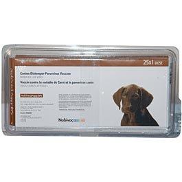Nobivac: Puppy DPv - 25 single dose tray
