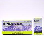 Tetanus Toxoid - 10 Dose Vial