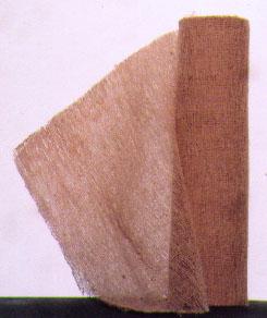 Brown Gauze Rolls - Case of 12 rolls / 6 inch wide by 5 yard long