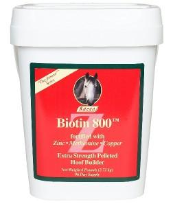 Biotin 800 Z Pellets - 20lb, 320 day supply
