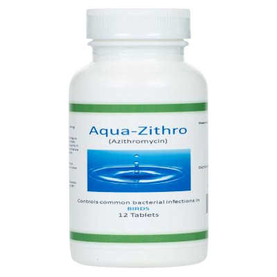 Aqua - Zithro - Azithromycin - 250 mg tablets-No RX Needed