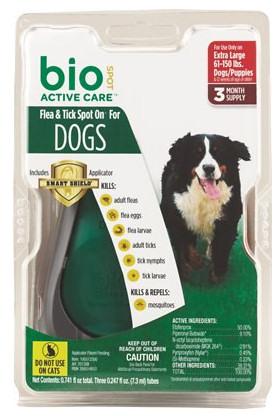 Flea & Tick BioSpot for Dogs 5-14lbs - Buy 2 get 1 Free