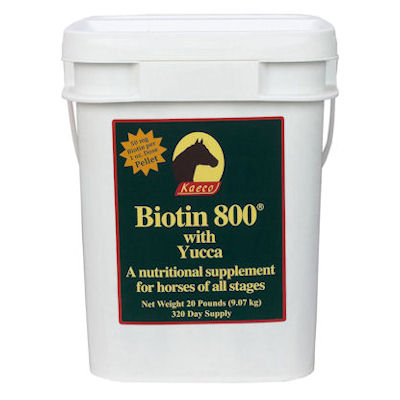 Biotin 800 Pellets - 20lb, 320 day supply