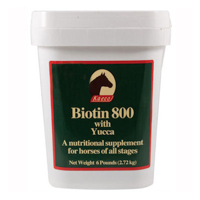 Biotin 800 Pellets - 6lbs, 96 day supply