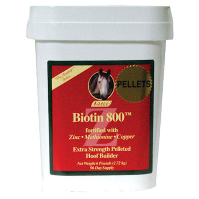 Biotin 800Z Pellets - 6lb, 96 day supply
