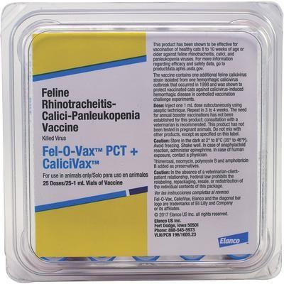 Fel-O-Vax PCT + CaliciVax (25x1) Elanco