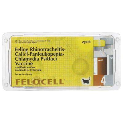 Felocell 4 - Zoetis -Cat Vaccine