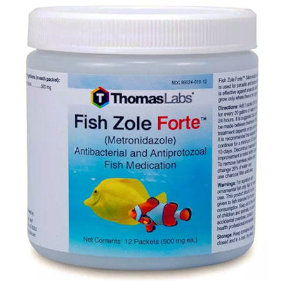 Fish Zole Forte - 500 mg Metronidazole -In Stock