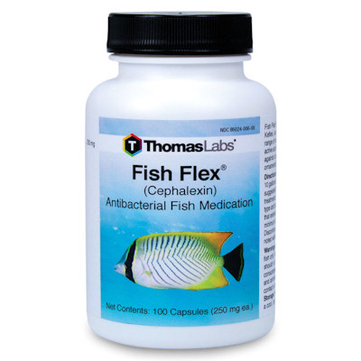 Fish Flex - Cephalexin - 250 mg strength/100 capsules