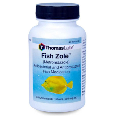 Fish Zole - Metronidazole - 250mg/tablet