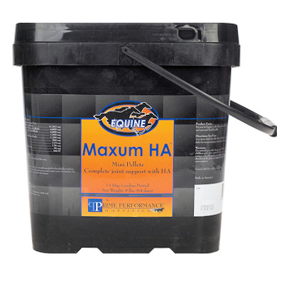 Maxum HA - High Potency Equine Joint Supplement - 8 lbs Mini Pellet