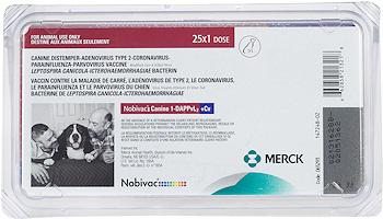 Nobivac Canine 1-DAPPvL2 + CV