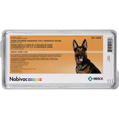 Nobivac Canine 3-DAPv -  Buy 1 Tray and Get 1 Free