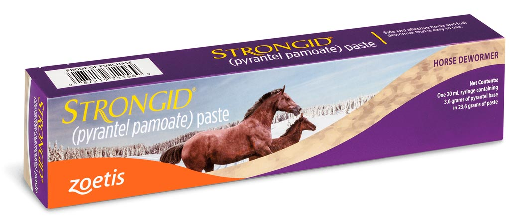 Strongid Paste(Zoetis) $7.25 - Order 12 or more at $6.74 each - Saves 51 cents per tube - Our Lowest Price Ever