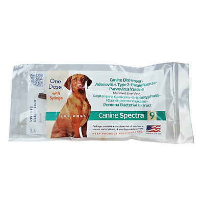 Spectra 9 - Single dose - 9 Way Dog Vaccine
