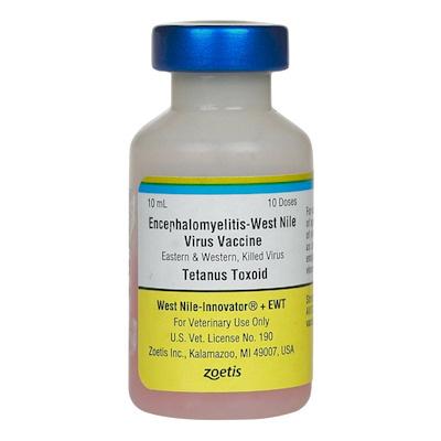 West Nile Innovator + EWT - Zoetis - 10 dose vial