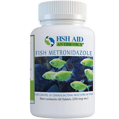 Fish Aid Metronidazole - 250 mg