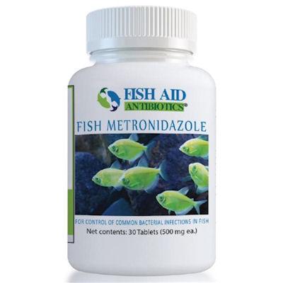 Fish Aid Metronidazole - 500 mg